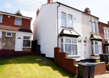Thumbnail 2 bedroom end terrace house for sale in Malvern Road, Handsworth, Birmingham