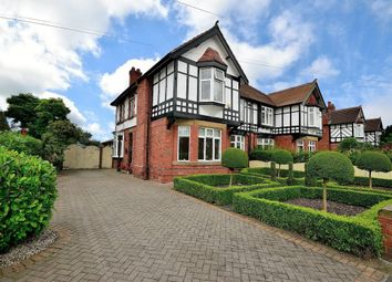 Thumbnail 5 bed semi-detached house for sale in York Drive, Grappenhall, Warrington