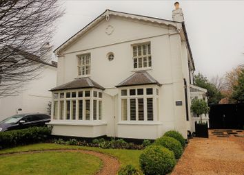 Thumbnail 4 bed detached house for sale in Church Road, Esher