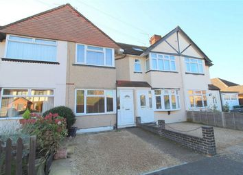 Thumbnail 2 bed terraced house for sale in Sydney Crescent, Ashford, Middlesex