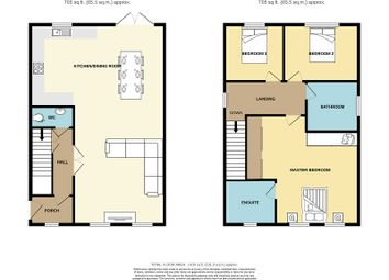 Thumbnail 3 bed detached house for sale in Bethania Row, Old St. Mellons, Cardiff.