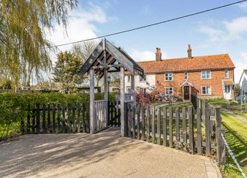 Thumbnail 3 bed terraced house for sale in Carleton Rode, Norwich, Norfolk