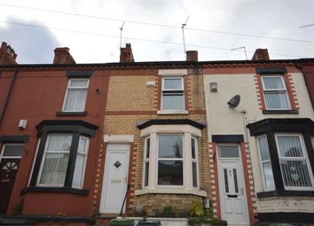 Thumbnail 2 bed terraced house for sale in Wycherley Road, Tranmere, Merseyside