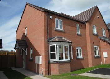 Thumbnail 3 bed semi-detached house to rent in St. Nicholas Park, Newport