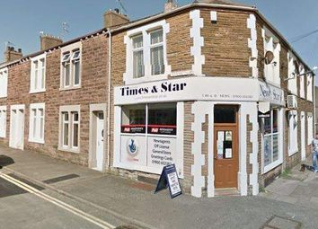 Thumbnail Retail premises for sale in Corporation Road, Workington