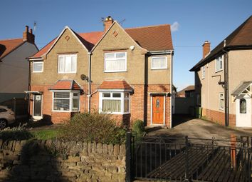Thumbnail 3 bed semi-detached house for sale in Hasland Road, Hasland, Chesterfield