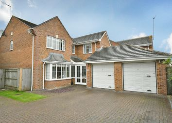 Thumbnail 4 bed detached house for sale in Petter Close, Wroughton, Swindon