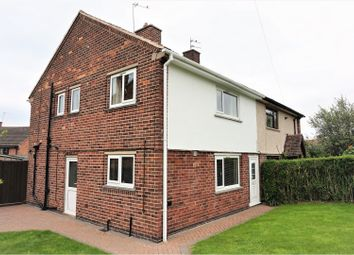 Thumbnail 3 bed semi-detached house for sale in St. Edwards Road, Castle Donington