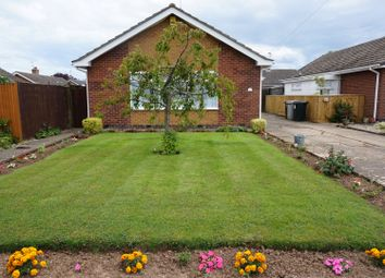 Thumbnail 3 bed detached bungalow for sale in Sydney Drive, Skegness