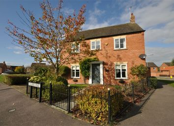Thumbnail 4 bed detached house for sale in Colseed Road, Mawsley Village, Kettering, Northamptonshire