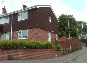 Thumbnail 2 bed end terrace house to rent in Manor Crescent, Honiton
