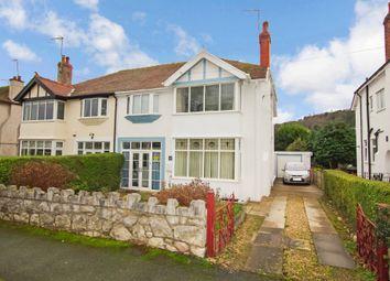 Thumbnail 4 bed semi-detached house for sale in Llannerch Road West, Rhos On Sea, Colwyn Bay
