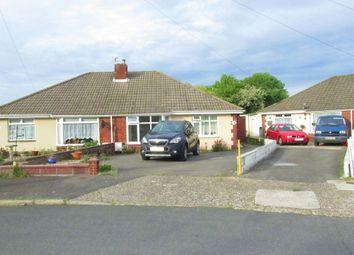 Thumbnail 2 bedroom semi-detached bungalow for sale in Bridgemary Road, Gosport