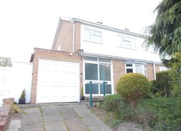 Thumbnail 3 bed property for sale in Broad Oak Crescent, Bayston Hill, Shrewsbury