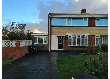 Thumbnail 3 bed semi-detached house for sale in Warkworth Avenue, Wallsend