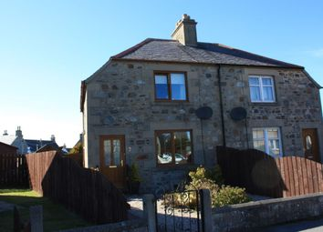 Thumbnail 2 bed semi-detached house for sale in Victoria Crescent, Cullen, Buckie