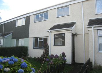 Thumbnail 3 bed terraced house for sale in Culverland Park, Liskeard, Cornwall