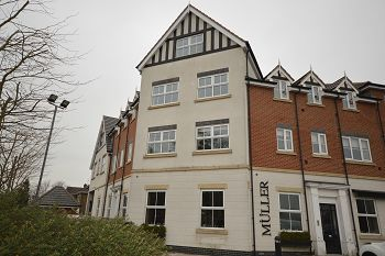 Thumbnail 2 bed flat to rent in The Points, Crewe Road, Alsager