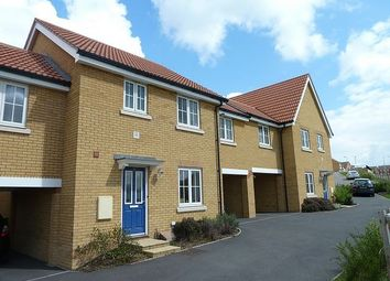 Thumbnail 3 bedroom terraced house to rent in Eagle Close, Stowmarket