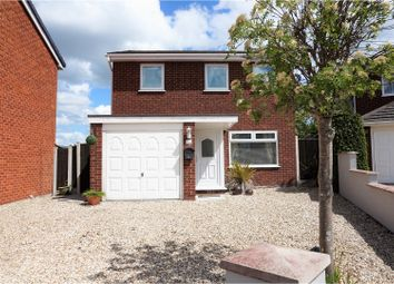 Thumbnail 3 bed detached house for sale in The Meadows, Wrexham