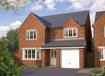 "Thumbnail 4 bed detached house for sale in ""The Durham"" at Bowbrook, Shrewsbury"