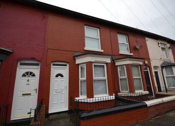 Thumbnail 2 bedroom terraced house for sale in Kilburn Street, Bootle, Liverpool