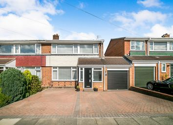 Thumbnail 3 bed semi-detached house for sale in Catcheside Close, Whickham, Newcastle Upon Tyne