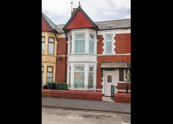 Thumbnail 3 bed flat to rent in Mardy Street, Cardiff