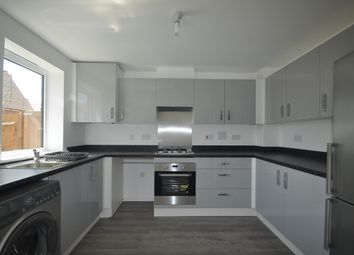 Thumbnail 3 bed terraced house to rent in Giles Drive, Castle Hill, Ebbsfleet Valley, Swanscombe