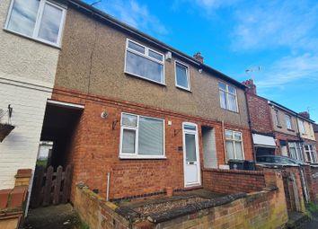 Thumbnail 3 bed terraced house to rent in Upper Queen Street, Rushden