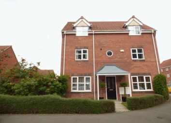 Thumbnail 4 bed detached house for sale in Harker Drive, Coalville