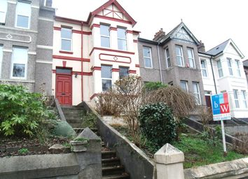 Thumbnail 3 bed terraced house to rent in Coleridge Road, Plymouth