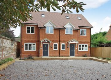 Thumbnail 3 bed semi-detached house for sale in High Street, Lambourn, Hungerford