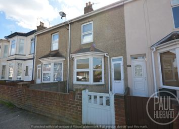 Thumbnail 3 bed terraced house to rent in Lorne Park Road, Lowestoft, Suffolk