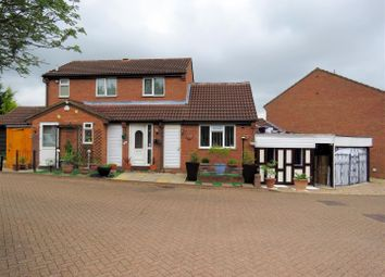 Thumbnail 4 bed detached house for sale in Haberley Mead, Bradwell, Milton Keynes