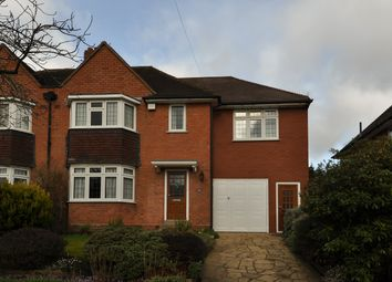 Thumbnail 4 bed semi-detached house for sale in Meadow Brook Road, Bournville Village Trust, Northfield