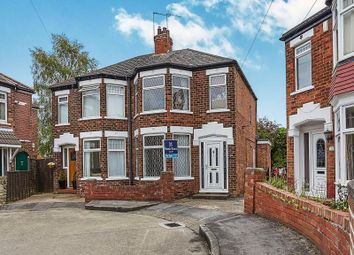 Thumbnail 3 bed semi-detached house for sale in Trafford Road, Willerby, Hull