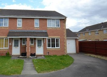 Thumbnail 2 bed semi-detached house to rent in Chesterment Way, Lower Earley, Reading
