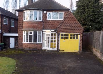 Thumbnail 3 bed detached house for sale in Pear Tree Road, Great Barr, Birmingham