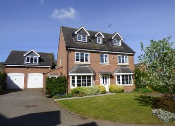 Thumbnail 5 bedroom detached house for sale in Cony Walk, Grange Park, Northampton, Northamptonshire