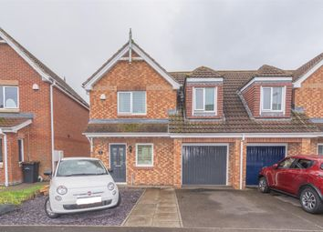 Thumbnail 4 bed semi-detached house for sale in The Chequers, Consett