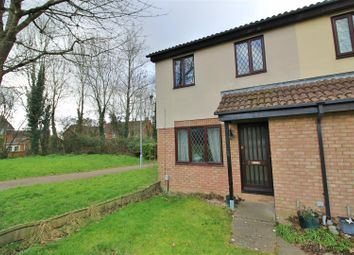 Thumbnail 3 bed semi-detached house for sale in Basil Close, Woodhall Park, Swindon