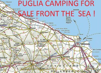 Thumbnail Hotel/guest house for sale in Camping Front The Sea !, Brindisi, Puglia, Italy
