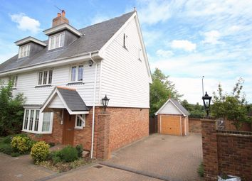 Thumbnail 4 bed semi-detached house to rent in Chaplin Court, Sutton At Hone, Dartford