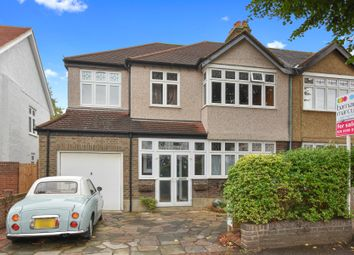 Thumbnail 5 bed semi-detached house for sale in Lynwood Drive, Worcester Park