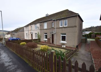 Thumbnail 2 bed flat for sale in Scott Crescent, Selkirk