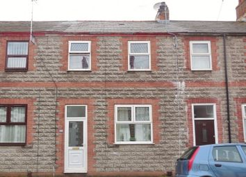 Thumbnail 3 bed terraced house for sale in Railway Street, Splott, Cardiff CF242Dg
