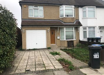 Thumbnail 1 bed end terrace house to rent in Greenwood Avenue, Enfield / Middelesex