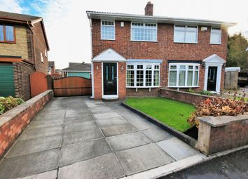 Thumbnail 2 bed semi-detached house for sale in Raithby Drive, Wigan
