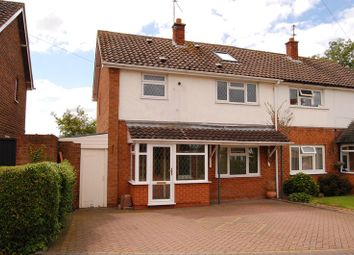 Thumbnail 4 bed semi-detached house for sale in School Close, Trysull, Wolverhampton
